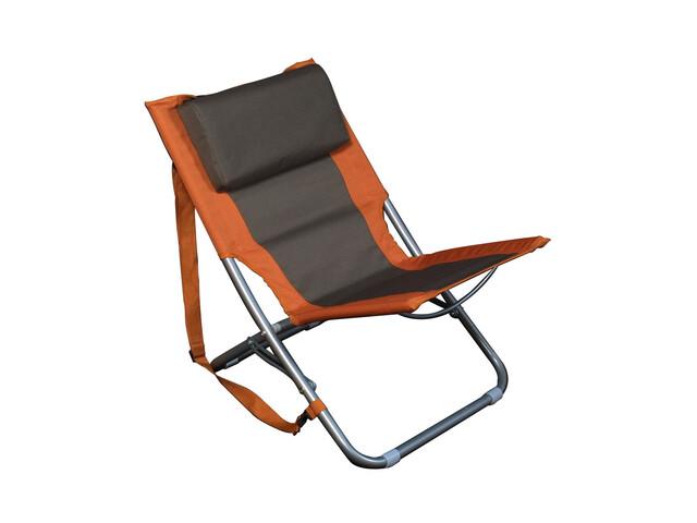 Relags Travelchair Beach orange/braun